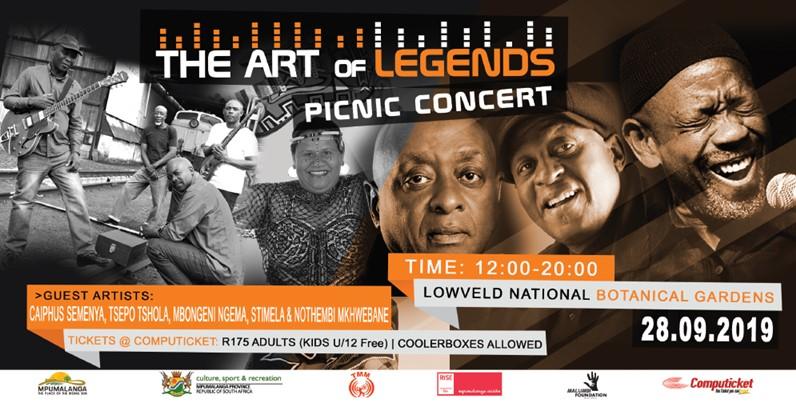 the art of legends picnic concert