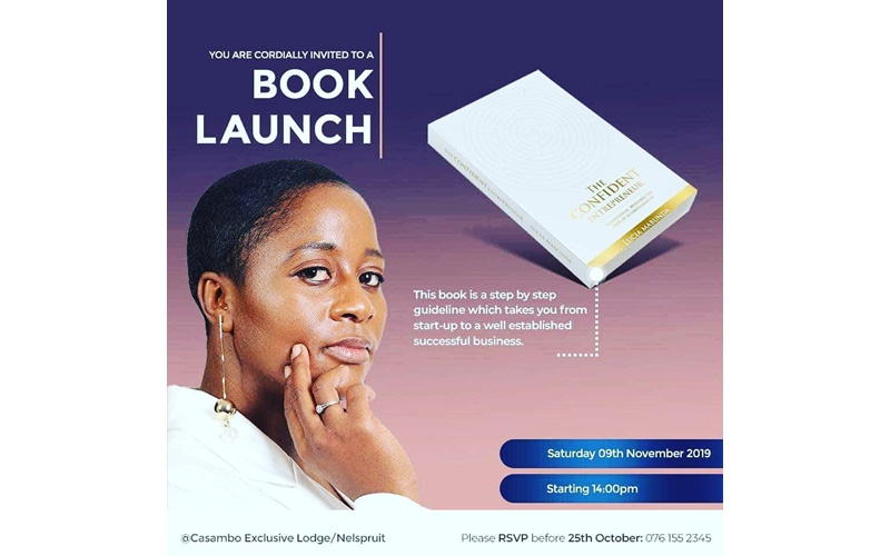 Lucia Mabunda book launch