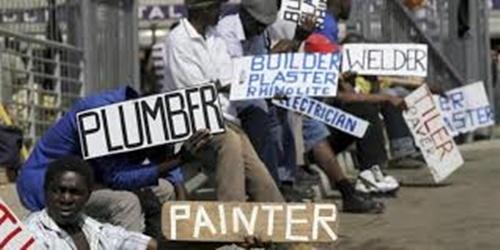 South African job losses