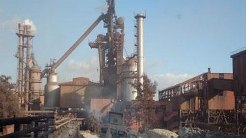 ArcelorMillar steel plant in Saldanha