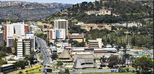 Maseru, capitol of Lesotho