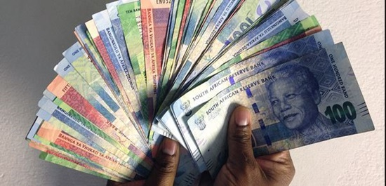 image of SA money used in article on debt providers and lawyers who destroy the poor