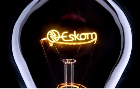 Picture depicting blackouts in SA as a reuslt of the national electricity generator Eskom not able to supply electricity