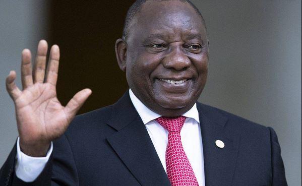 Pres Cyril Ramaphosa from SA