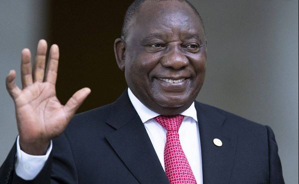 Pres Cyril Ramaphosa from SA