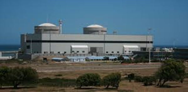 Koebrg nuclear plant in the Western Cape, SA