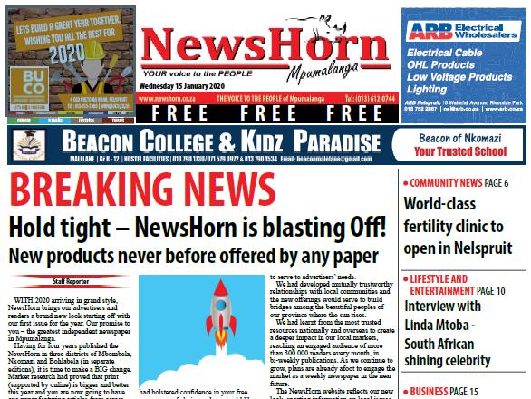 Newshorn-15-Jan-2020 Edition 194