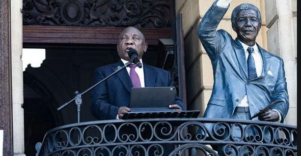 Cyril Ramaphosa president of South Africa
