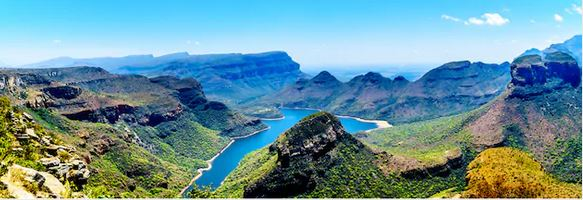 Blyderivier Canyon in Mpumalanga