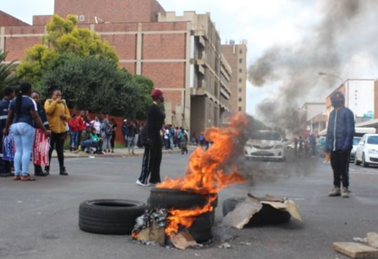 TVET students protest in SA